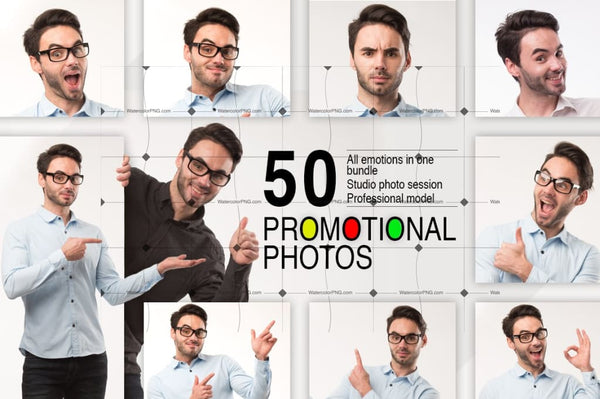 50 Promotional Photos Bundle Digital