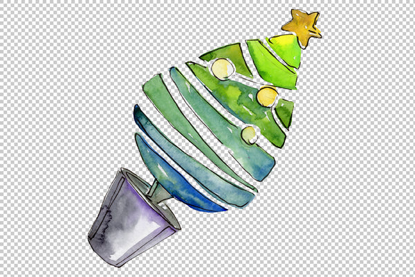 Christmas sweets watercolor png