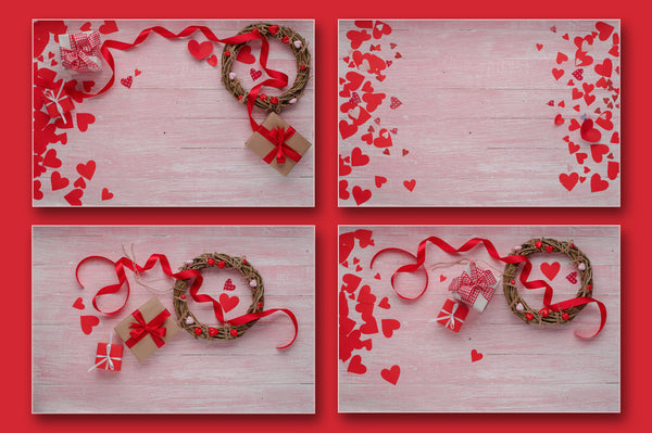 Valentines Day love celebration JPG set