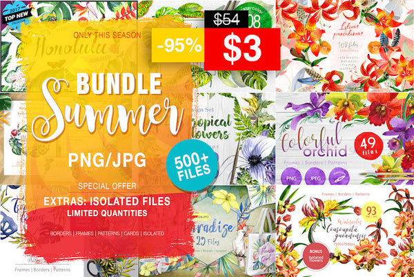 Summer Time Sadness Sale Bundle