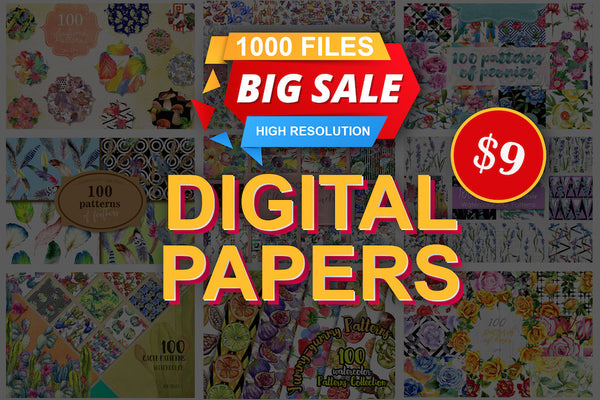 Digital Papers Bundle
