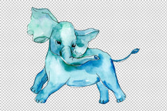Elephant Png Watercolorpng Baby elephant, watercolor, 700x1200artwork (imgur.com). elephant png watercolorpng