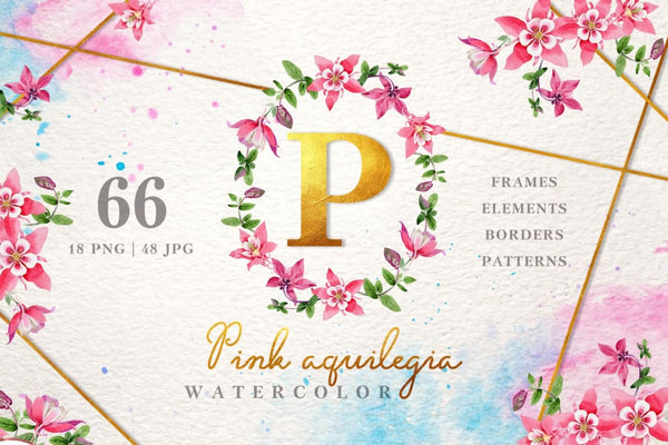 Best watercolor bundle 20 collections Bundle