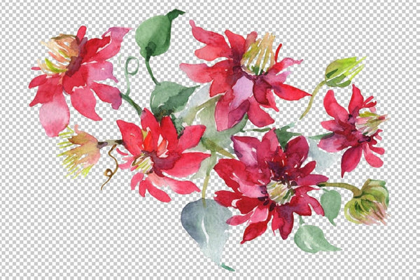 Bouquet Angelic flight Watercolor png Flower