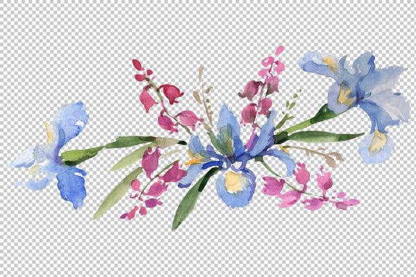 Bouquet Refinement Watercolor png Flower
