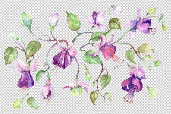 Bouquet silver jingle watercolor png Flower