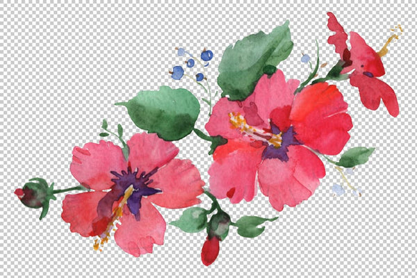 Bouquet Spring Wind Watercolor png Flower