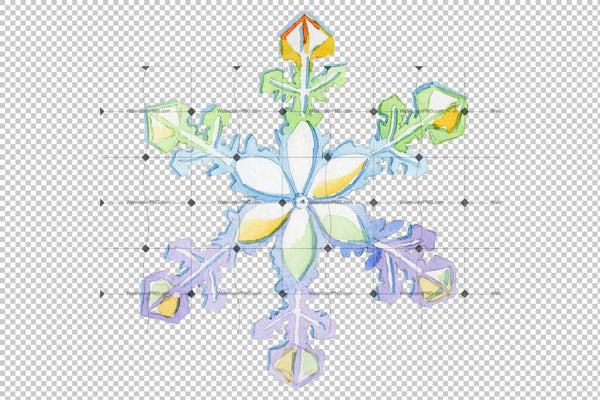 Christmas Png Background Snowflake Design