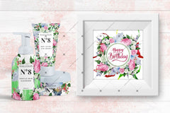 Wedding Watercolor Bouquets Png Set Digital