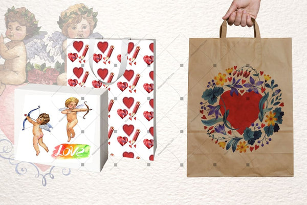 Valentines Day Png Watercolor Set Digital