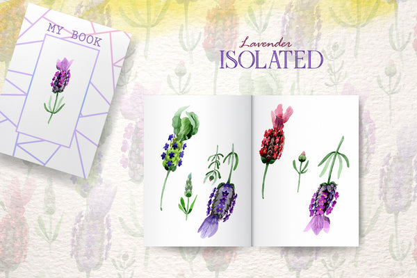 lavender Watercolor png