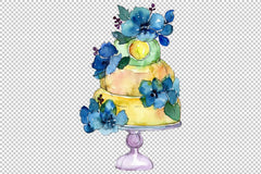 Dessert Mothers love watercolor png Flower