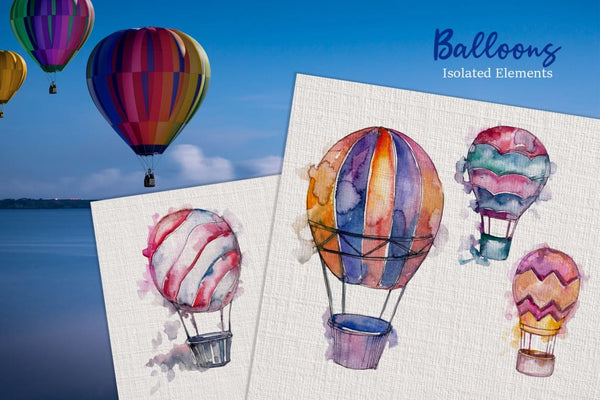 Dreamers on hot air balloons! Digital