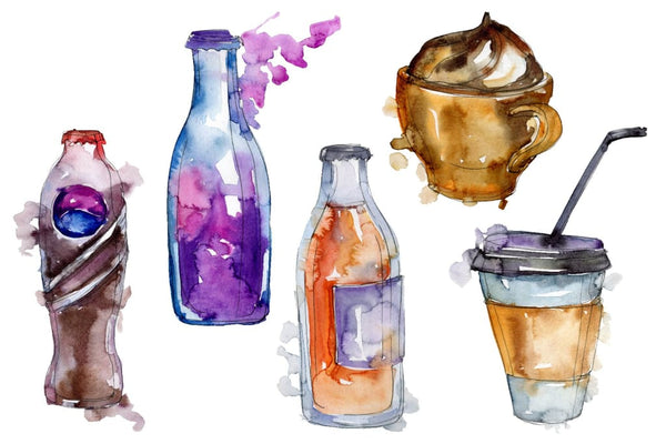 Drinks Juliet Watercolor png Flower