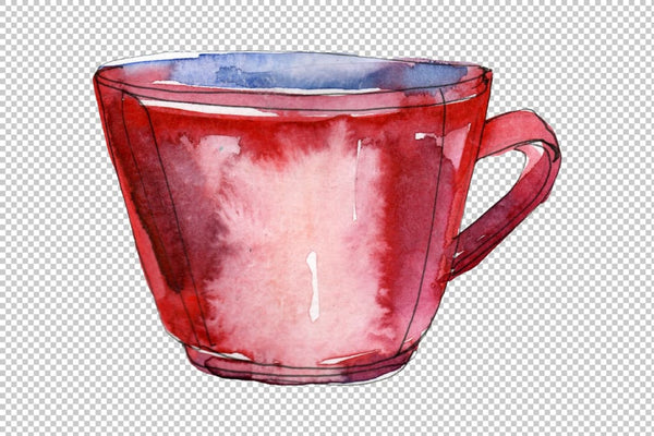Drinks tea ceremony Watercolor png Flower