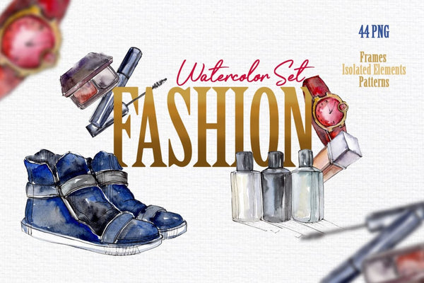 Fashion Watercolor png Digital