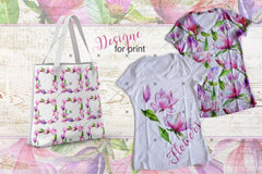 Meet Magnolia Png Watercolor Flower Set Digital