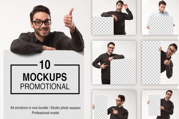 Mockups promotion photo bundle Offer
