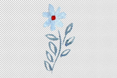 Ornament Watercolour png Flower