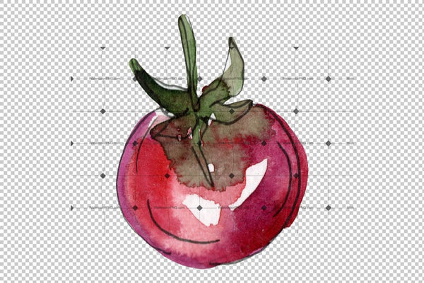 Pizza Vegetable Watercolor Png Flower