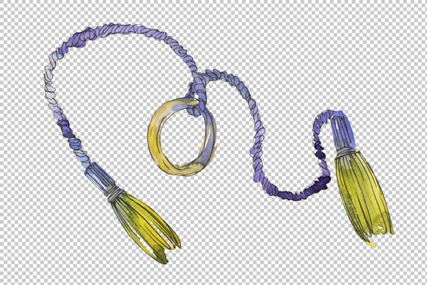 Ropes Watercolor png Flower