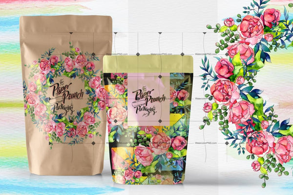 Spring Bouquet Png Watercolor Set Digital