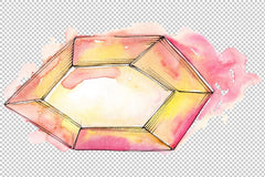 rystals magic Watercolor png