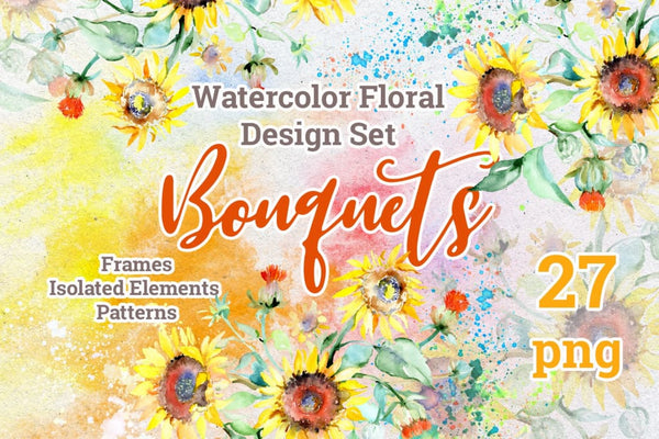 Weekly watercolor bundle 27/11/19 Bundle
