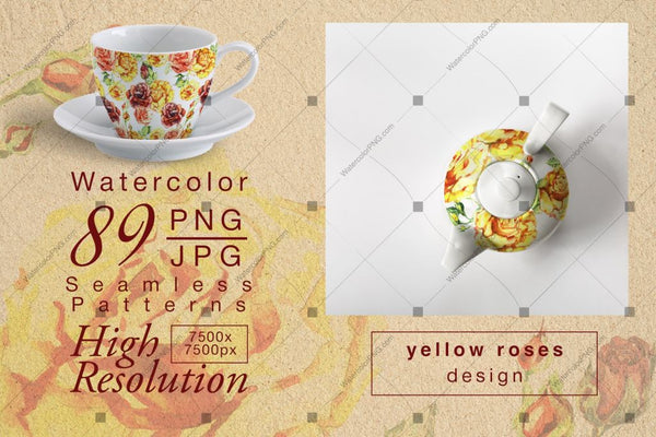 Set Yellow Colour Yellow Roses Png Digital