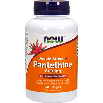 Pantethine 600 mg 60 softgels