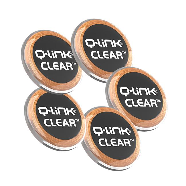 Q-Link CLEAR with SRT-3 for Portable Electronic Devices (PACK OF 5) Variety of colors available