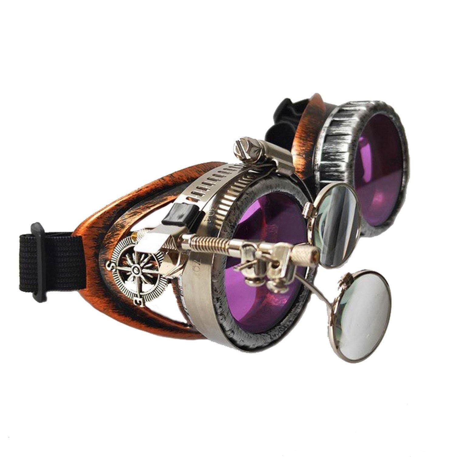 Steampunk Goggles Retro Steam Punk Glasses