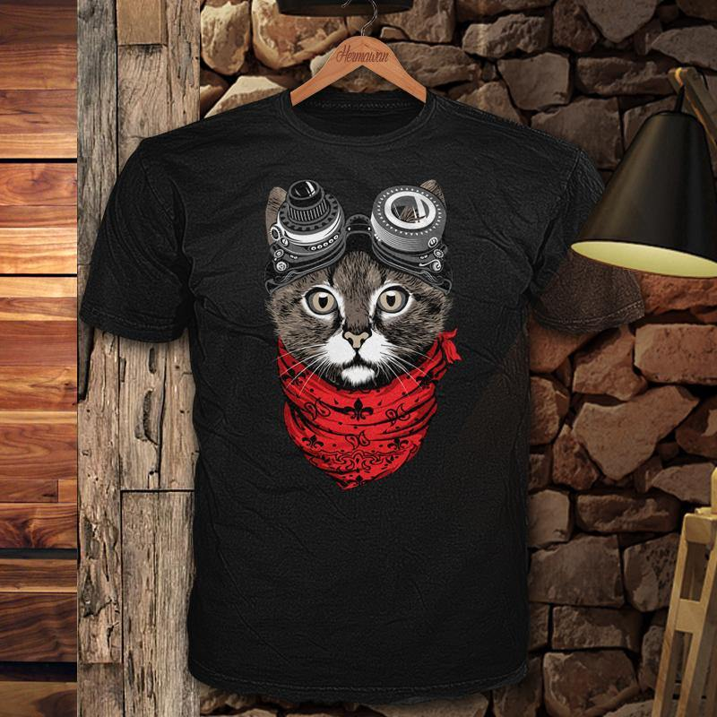Steampunk Cat Tee