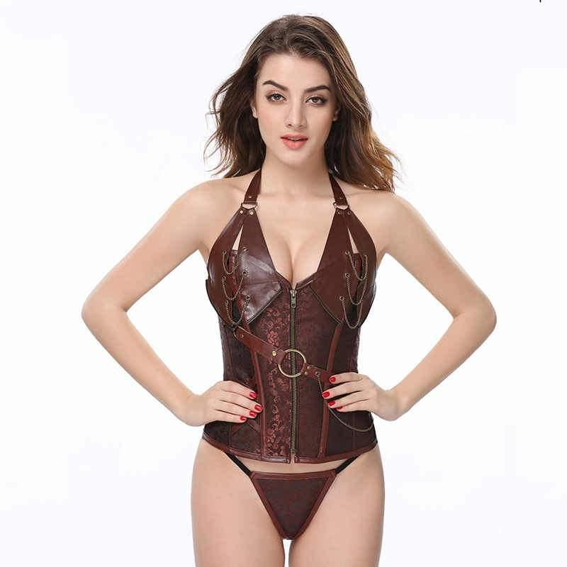 Steampunk Burlesque Corset Set