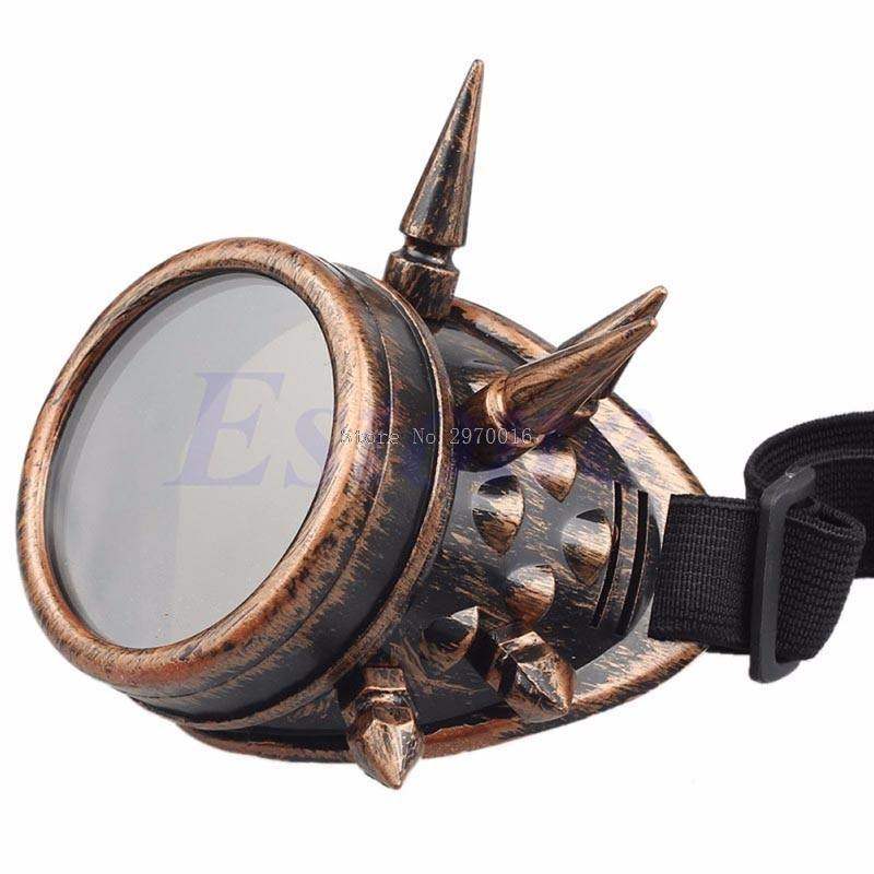 Spiky Steampunk Goggles - Frontier Punk