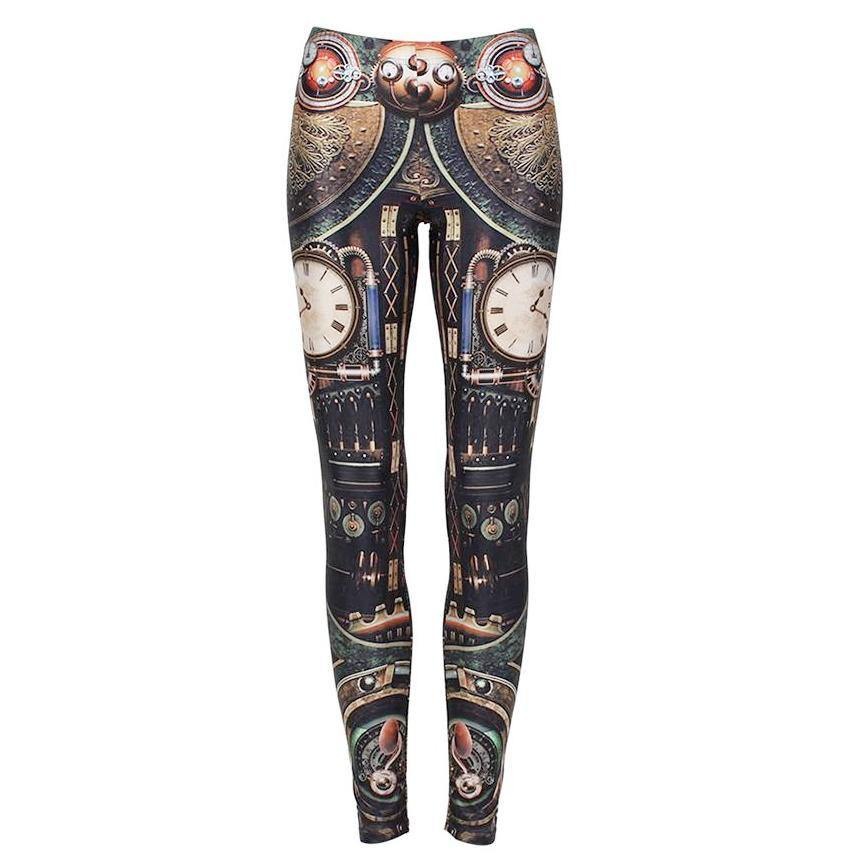 Retro Apparatus Leggings - Frontier Punk