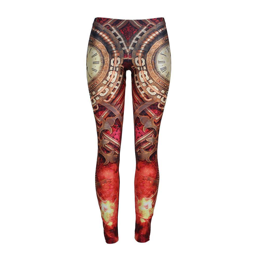 Burning Times Leggings - Frontier Punk