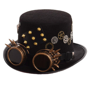 14a206b9 Steampunk Accessories: Steampunk Hats, Goggles, Watches – Frontier Punk