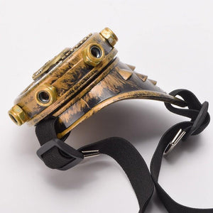 Steampunk Goggle One Eye Patch - Frontier Punk