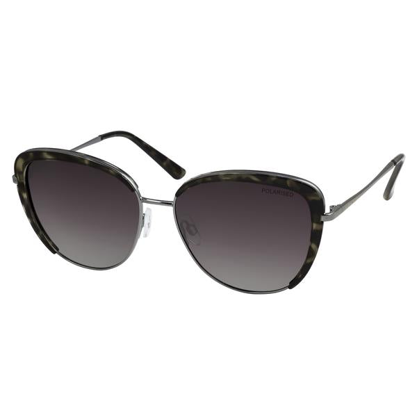 LOCELLO Lyla  Grey Tortoiseshell Polarised