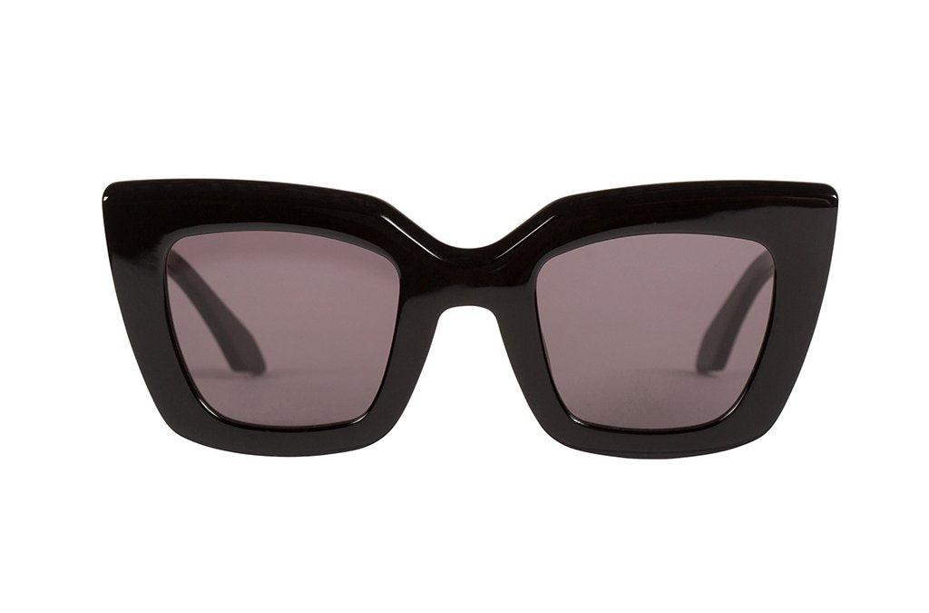 valley sunglasses black gloss eyewear brigada style