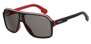 Carrera 1001/S Matte Black/Red Polarised