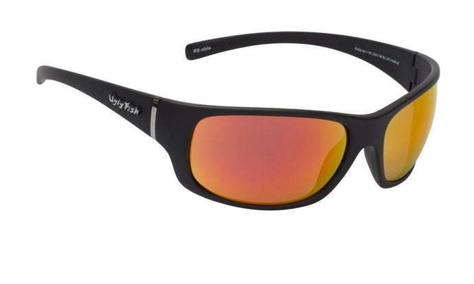 Ugly Fish Eclipse Matte Black/Red Revo Polarised