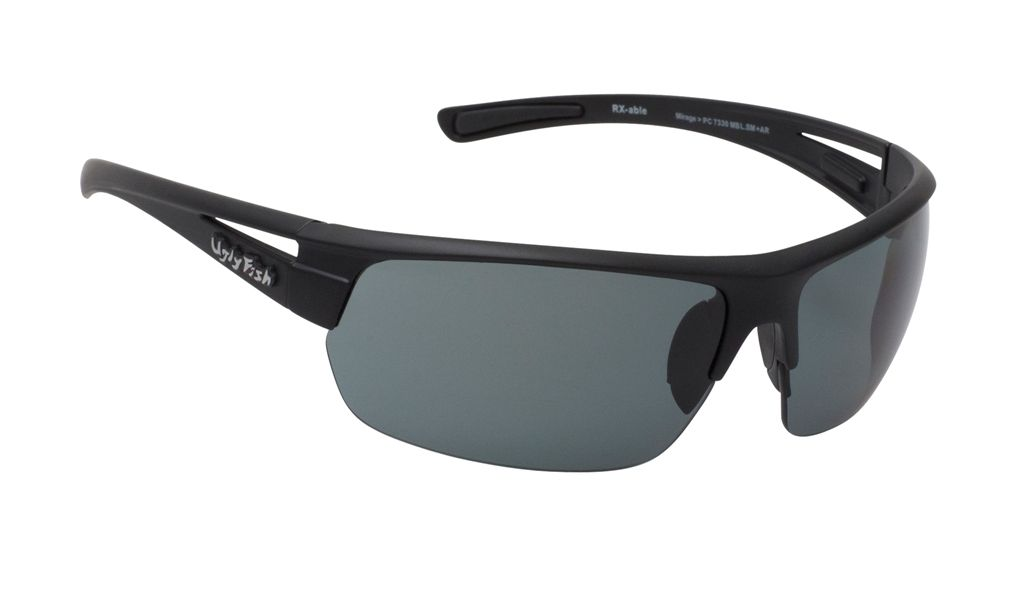 Ugly Fish Mirage - Matte Black/Smoke Polarised