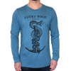Lucky Rock Graphic Long Sleeve Tee-Shirt