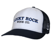 Lucky Rock  Twill Mesh Snapback Trucker Hat