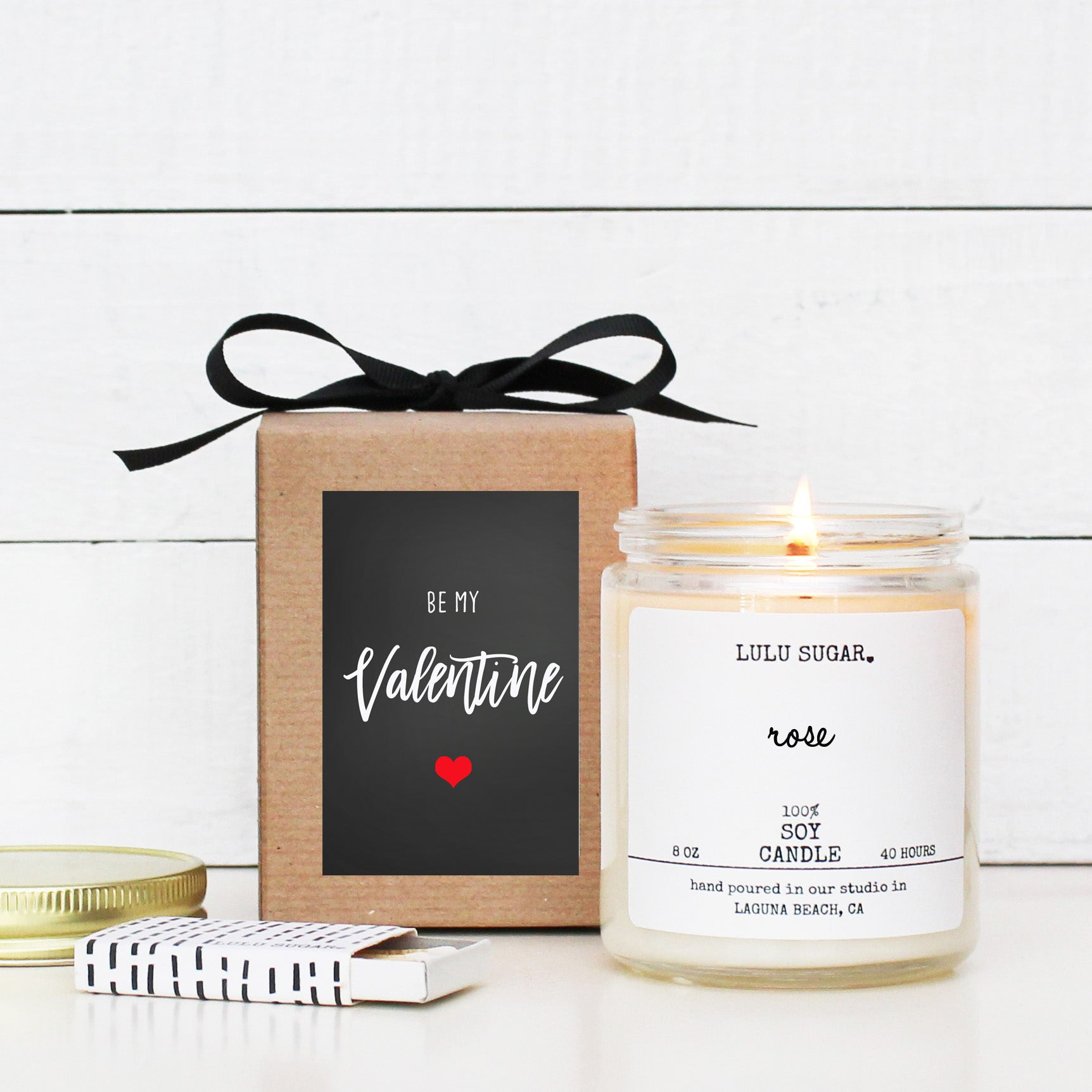 Be My Valentine - 8 oz Soy Candle
