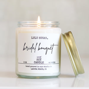 Bridal Bouquet 8 oz Candle