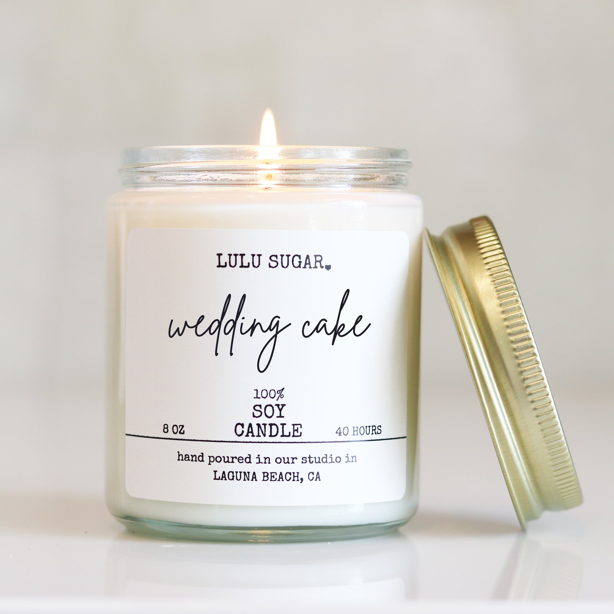 Wedding Cake 8 oz Candle
