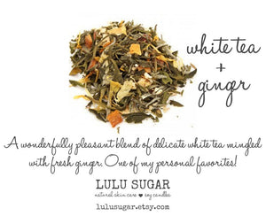 White Tea + Ginger 8 oz Candle